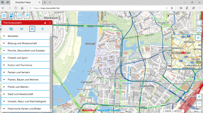 Abb. Düsseldorf Maps
