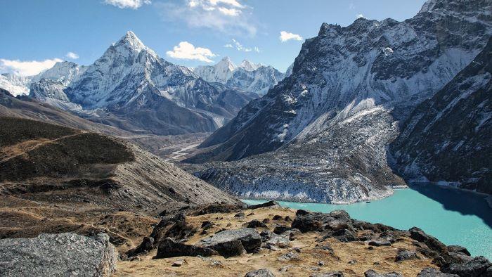 Eine Landschaft im Himalaya Copyright:Eric Salomon