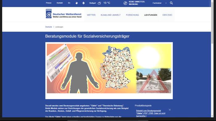 Bildnachweis: Deutscher Wetterdienst