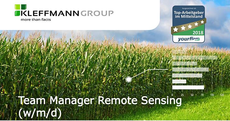 Team Manager Remote Sensing(w/m/d) www.kleffmann.com